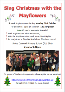 Sing Christmas with the Mayflowers